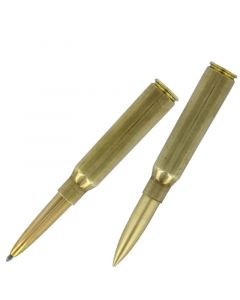 .338 Cartridge Space Pen, Brass