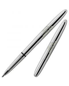 Bullet Space Pen, Chrome, Fisher Logo