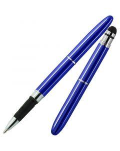 Bullet Grip Space Pen, Blue Lacquer, Stylus