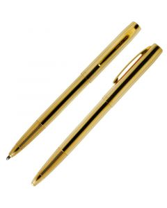 Cap-O-Matic Space Pen, Lacquered Brass